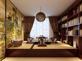 优雅现代客厅装修效果图
