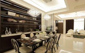 一居室精美现代客厅效果图