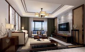 精美150平现代客厅案例图