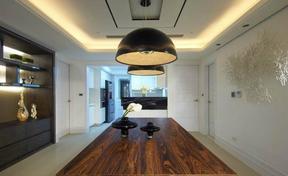 四居室现代风格餐厅效果图